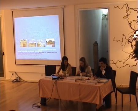 Terceira sesión. Grabación lado mesa ponentes. - II Seminario Luso-Galaico de Dereito Local, Reforma da Administración Local / Tutela da legalidade urbanística